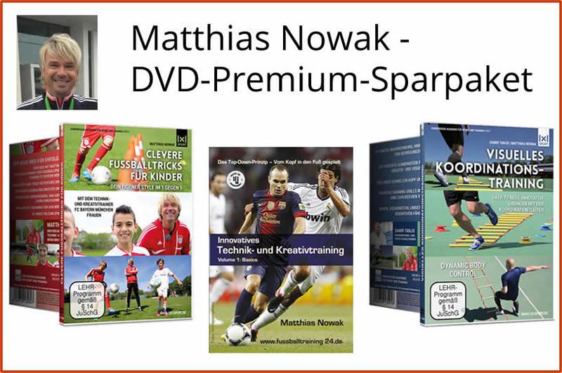 Matthias Nowak - DVD-Premium-Sparpaket