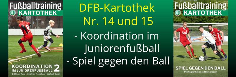 DFB Fußballtraining - Kartotheken
