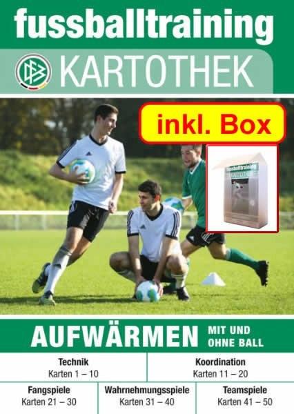 Dfb Kartothek Aufwarmen Mit Und Ohne Ball Inkl Box