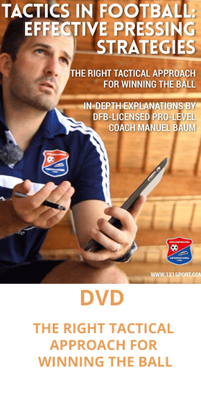 DVD - Tactics - effective pressing strategies